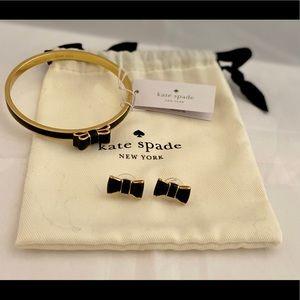 🍁♠️KATE SPADE bracelet and earrings set.